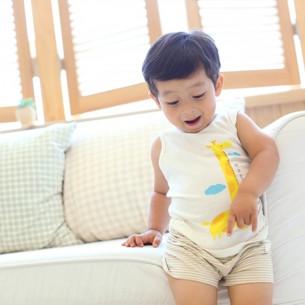 竹有机服装的措辞无袖sanghabok关键_(男)