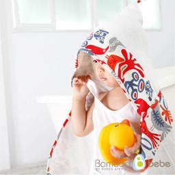 竹toktok温和蒙面毛巾_独特的鸟
