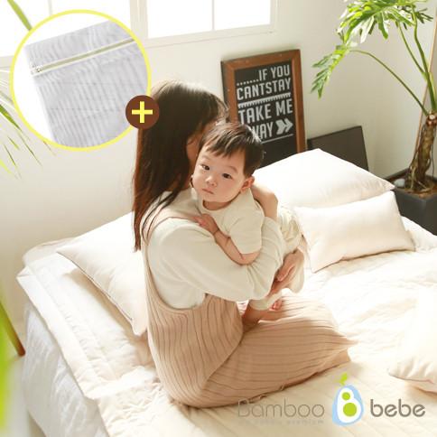 温和的竹妈妈和摩擦垫和枕套<br> <font color=#d2446c><b>[Muhyeonggwang洗衣网络筛上现现;</b></font> ]