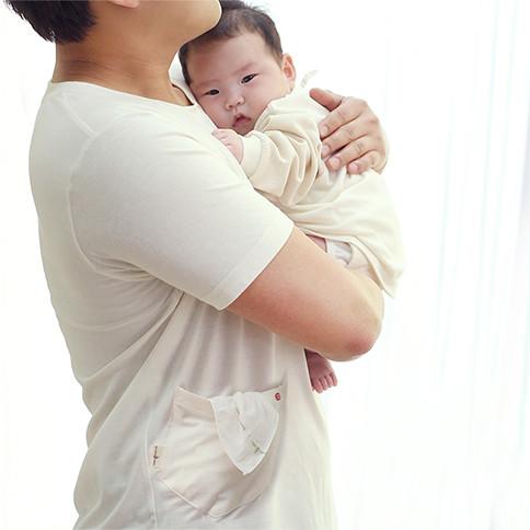 아랑아랑 아빠티_반팔<br><b>(크림/화이트 택1)</b>